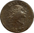 Large Cents, 1793 1C Chain, AMERICA, S-2, B-2, High R.4 -- Excessive Corrosion -- PCGS Genuine. Fine Details....