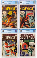 Silver Age (1956-1969):Superhero, Tales of Suspense CGC-Graded Group of 8 (Marvel, 1961-63).... (Total: 8 )
