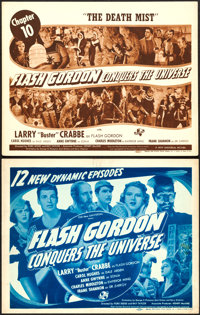 Flash Gordon Conquers the Universe (Universal, 1940). Fine/Very Fine. Stock Title Lobby Card & Chapter Title Lob...