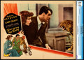 """Movie Posters:Comedy, Bringing Up Baby (RKO, 1938). Very Fine. CGC Graded Lobby Card (11"""" X 14"""").. ..."""