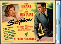 "Suspicion (RKO, 1941). Fine/Very Fine. CGC Graded Title Lobby Card (11"" X 14"")"