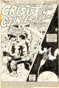 Original Comic Art:Complete Story, Herb Trimpe and Jack Abel Incredible Hulk #176 Complete 18-Page Story -- 16 Original Art and Two Stat Pages (Marve...