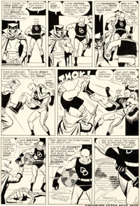Wally Wood Daredevil #6 Story Page 16 Original Art (Marvel, 1965)