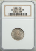 Liberty Nickels: , 1883 5C No Cents MS65 NGC. NGC Census: (1946/546). PCGS Population: (1716/529). CDN: $175 Whsle. Bid for problem-free NGC/P...