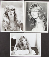 c. 1970s Farrah Fawcett Original Photograph Lot of 3