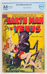 An Earth Man on Venus #nn (Avon, 1951) CBCS VG- 3.5 Cream to off-white pages
