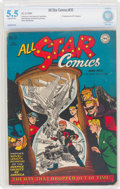 Golden Age (1938-1955):Superhero, All Star Comics #35 (DC, 1947) CBCS FN- 5.5 Slightly brittle pages....