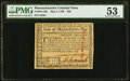 Colonial Notes:Massachusetts, Massachusetts May 5, 1780 $20 PMG About Uncirculated 53.. ...