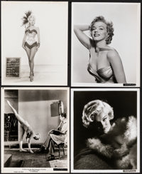 """Marilyn Monroe Lot (1953-1960). Overall: Fine/Very Fine. Photos (7) (8"""" X 10""""). Miscellaneous. ... (Total: 7 I..."""