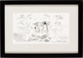Animation Art:Production Drawing, Lilo & Stitch Storyboard (Walt Disney, 2002).. ...