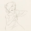 Animation Art:Production Drawing, Peter Pan Wendy Production Drawing (...