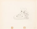 Animation Art:Production Drawing, Mickey's Service Station Mickey Mous...