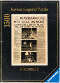 "Explorers:Space Exploration, 1969 New York Times ""Men Walk On Moon"" Ravensburger Jigsaw Puzzle Directly From The Armstrong Family Collection™, ..."