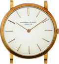 Timepieces:Wristwatch, Audemars Piguet, Caliber 2003, Ultra-Thin 18k Gold Watch, circa 1965. ...