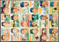 Autographs:Sports Cards, Signed 1956 Topps Lot of 18....
