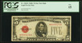 Small Size:Legal Tender Notes, Fr. 1528* $5 1928C Mule Legal Tender Star Note. PCGS Fine 15.. ...