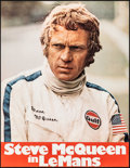 """Movie Posters:Sports, Le Mans (Centfox, 1971). Rolled, Very Fine+. German A1 (23.5"""" X 30.25""""). Sports.. ..."""
