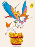 Animation Art:Presentation Cel, She-Ra Princess of Power Publicity Cel (Filmation Associates, 1985). ...