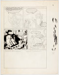 "Original Comic Art:Panel Pages, Bernie Wrightson Web of Horror Unfinished False-Start Page 3 of ""The Monster Jar,"" Orphaned Story Original Art (Ma..."