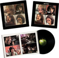 Music Memorabilia:Memorabilia, The Beatles Let It Be Vinyl LP Box Set With Get Back Book (Apple, PCS 7096).... (Total: 3 Items)