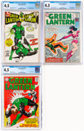 Silver Age (1956-1969):Superhero, Green Lantern #16, 33, and 87 CGC-Graded Group (DC, 1962-72). CGC VG+ 4.5.... (Total: 3 )