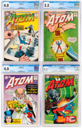 Silver Age (1956-1969):Superhero, The Atom CGC-Graded Group of 4 (DC, 1962-66) .... (Total: 4 )