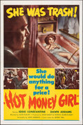 """Movie Posters:Crime, Hot Money Girl (United Producers, 1961). Folded, Very Fine+. One Sheet (27"""" X 41""""). Crime.. ..."""