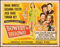 """Movie Posters:Comedy, Bowery to Broadway (Universal, 1944). Rolled, Fine+. Half Sheet (22"""" X 28""""). Comedy.. ..."""