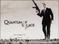 "Movie Posters:James Bond, Quantum of Solace (MGM, 2008). Rolled, Fine/Very Fine. British Quad (30"" X 40"") DS Advance. James Bond.. ..."