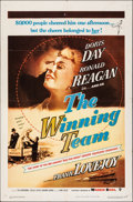 "Movie Posters:Sports, The Winning Team (Warner Bros., 1952). Folded, Fine/Very Fine. One Sheet (27"" X 41""). Sports.. ..."