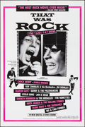 """Movie Posters:Rock and Roll, That Was Rock (American International, 1984). Folded, Very Fine. One Sheet (27"""" X 41""""). Rock and Roll.. ..."""