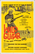 "Movie Posters:Rock and Roll, Wild Guitar (Fairway International, 1962). Folded, Very Fine. One Sheet (27"" X 41""). Rock and Roll.. ..."