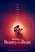 """Movie Posters:Animation, Beauty and the Beast (Buena Vista, 1991). Rolled, Very Fine. One Sheet (27"""" X 40"""") DS Advance. John Alvin Artwork. Animation..."""