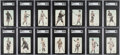 Baseball Cards:Sets, 1916 E137 Zeenut PCL Baseball Near Set (125/142). ...