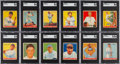 Baseball Cards:Sets, 1933 Goudey Baseball Partial Set Including #53 Ruth and #92 Gehrig (107/239)....
