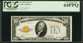 Fr. 2400 $10 1928 Gold Certificate. PCGS Very Choice New 64PPQ