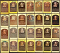 Autographs:Post Cards, Signed Baseball Hall of Fame Plaque Postcard Lot of 83....
