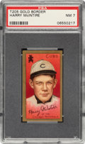Baseball Cards:Singles (Pre-1930), 1911 T205 Gold Border Harry McIntire PSA NM 7 - None Higher. ...