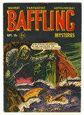 Golden Age (1938-1955):Horror, Baffling Mysteries #10 (Ace, 1952) Condition: VG....