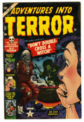 Golden Age (1938-1955):Horror, Adventures Into Terror #21 (Atlas, 1953) Condition: VG+....
