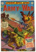 "Golden Age (1938-1955):War, Our Army at War #4 Davis Crippen (""D"" Copy) pedigree (DC, 1952)Condition: FN+...."