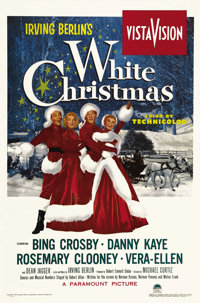 """White Christmas (Paramount, 1954). One Sheet (27"""" X 41""""). Other than """"Singin' in the Rain,"""" """"Wh..."""