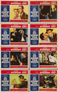 """Movie Posters:Hitchcock, The Man Who Knew Too Much (Paramount, 1956). Lobby Card Set of 8 (11"""" X 14""""). Doris Day sings """"Que Sera Sera"""" nervously as s... (Total: 8 Item)"""