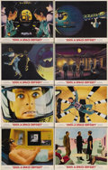 """Movie Posters:Science Fiction, 2001: A Space Odyssey (MGM, 1968). Lobby Card Set of 8 (11"""" X 14""""). Many of the key moments from Stanley Kubrick's science f... (Total: 8 Item)"""