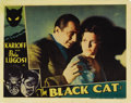 "Movie Posters:Horror, The Black Cat (Universal, 1934). Lobby Card (11"" X 14""). BelaLugosi offers advice to Julie Bishop in this close-up from the..."