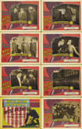 "Movie Posters:Drama, West Point (MGM, 1928). Lobby Card Set of 8 (11"" X 14""). WilliamHaines plays West Point cadet Brice Wayne, a malcontent who...(Total: 8 Items)"