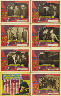 """West Point (MGM, 1928). Lobby Card Set of 8 (11"""" X 14""""). William Haines plays West Point cadet Brice Wayne, a..."""