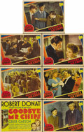 """Movie Posters:Drama, Goodbye, Mr. Chips (MGM, 1939). Title Lobby Card (11"""" X 14"""") and Lobby Cards (6) (11"""" X 14""""). Robert Donat (who received a B... (Total: 7 Items)"""