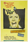 """Movie Posters:Horror, The Fly (20th Century Fox, 1958). Poster (40"""" X 60""""). Style Y. """"Help me! Help me!"""" To this day, that line as a half man, hal..."""