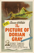 """Movie Posters:Horror, The Picture of Dorian Gray (MGM, 1945). One Sheet (27"""" X 41""""). Hurd Hatfield stars as Dorian Gray in this lavish production ..."""